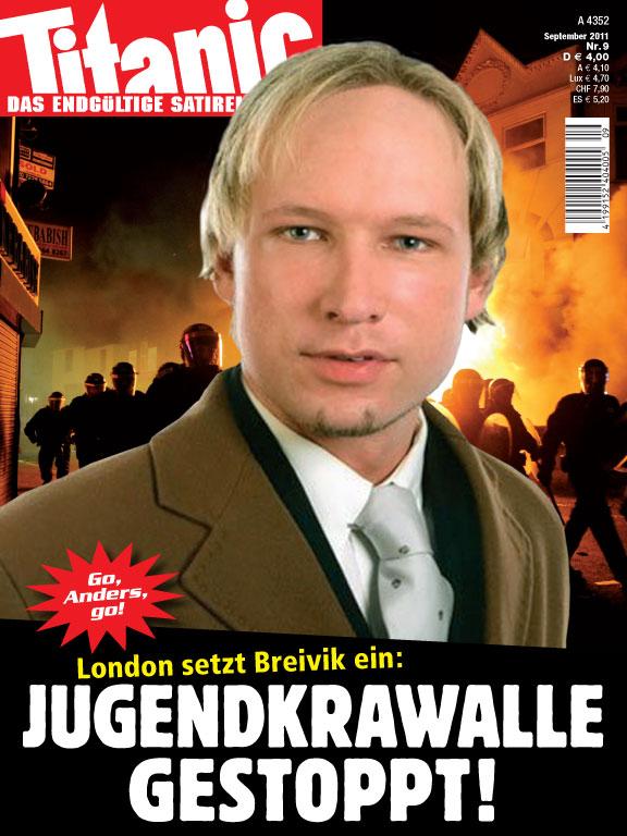 London setzt Breivik ein: Jugendkrawalle gestoppt! (09 ...