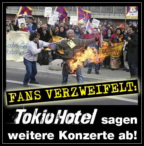 Tokio Hotel Konzerte abgesagt