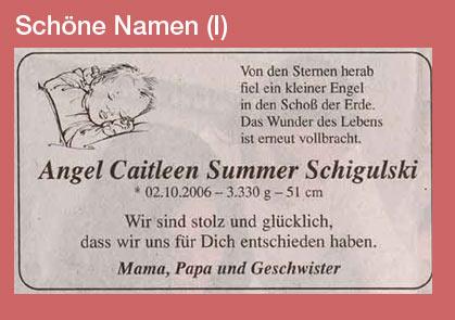 typisch ostdeutsche vornamen