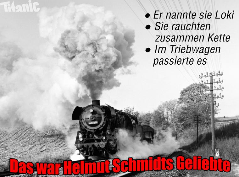 Jetzt auch bei TITANIC: Helmut-Schmidt-Witze   Aktuelle Karten ...