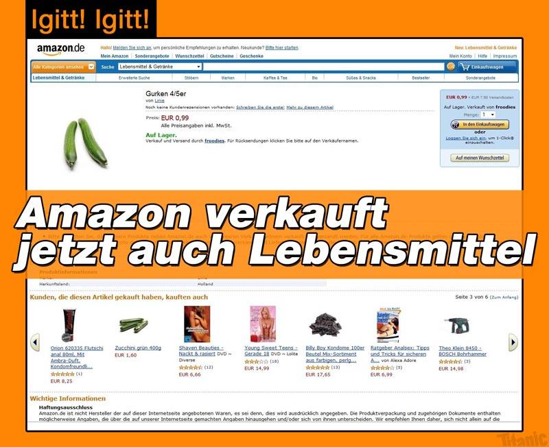 Amazon verkauft jetzt auch Lebensmittel