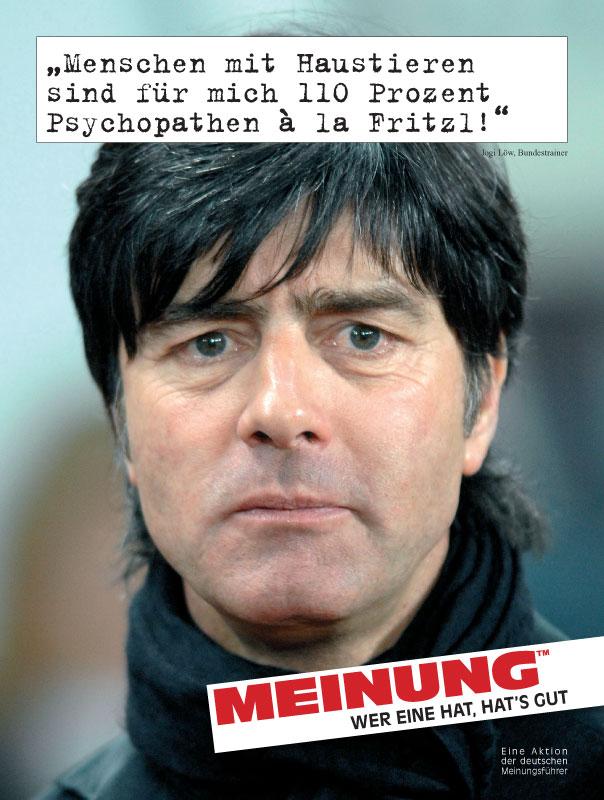 Jogi Löw Bundestrainer Meinung Wer Eine Hat Hats Gut