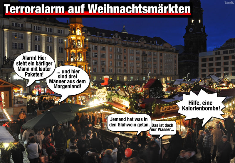 Glühweinseligkeit bis zum Abwinken. Quelle: www.titanic-magazin.de