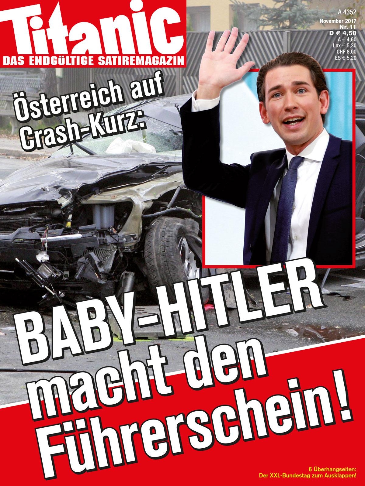 Osterreich Auf Crash Kurz Baby Hitler Macht Den Fuhrerschein 11