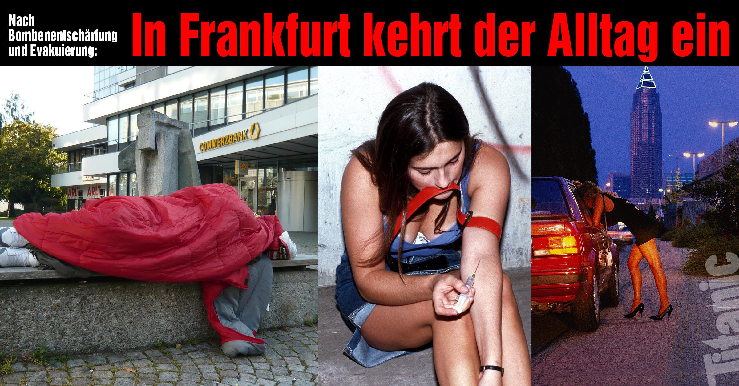 Frankfurt strassenstrich Frankfurt: Prostitution