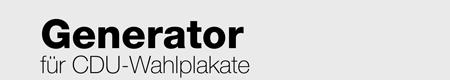 Wahlplakat Generator