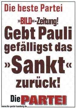Sankt Pauli - Die Partei