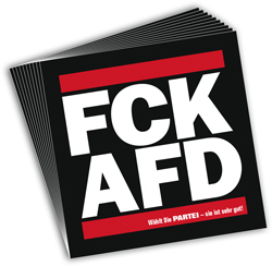 FCK-Aufkleber