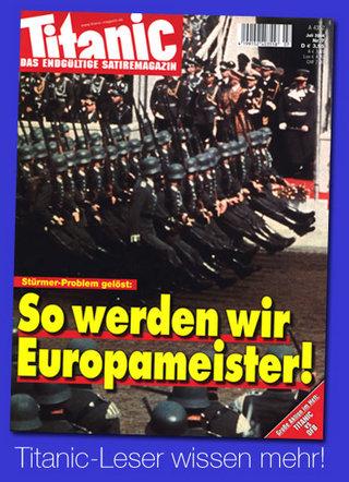 Titanic: So werden wir Europameister!