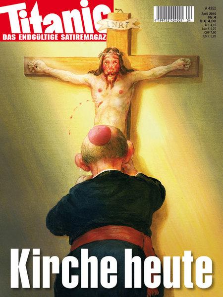 Titelbild der April-Ausgabe von TITANIC 2010